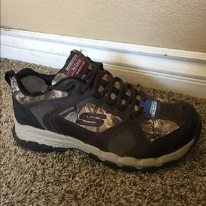 Skechers men's shoes extra wide fit size 12